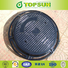Precision Top Quality Ductile Iron Round Locking Manhole Cover EN124 D400