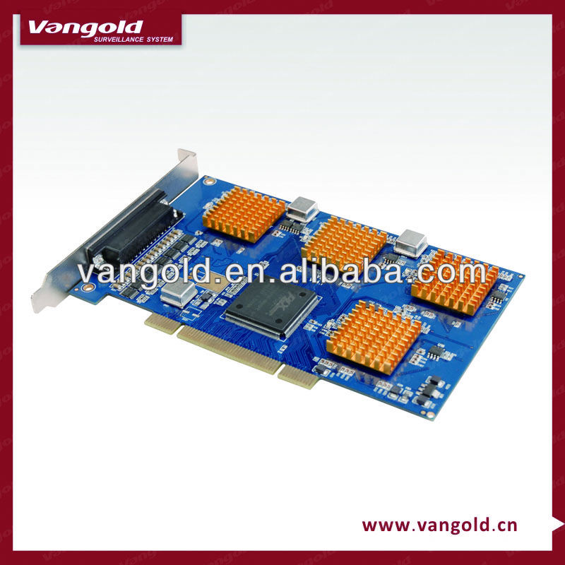 8CH Software DVR Card VG-8108