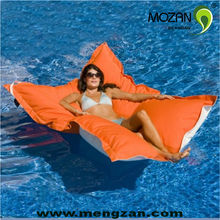 Pool float bed outdoor beanbag lounge water beds