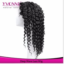 Brazilian Human Hair Full Lace Wig Deep Wave Buy Human Hair Online