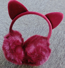 Animal Earmuffs / Plush Cat Ear Muff