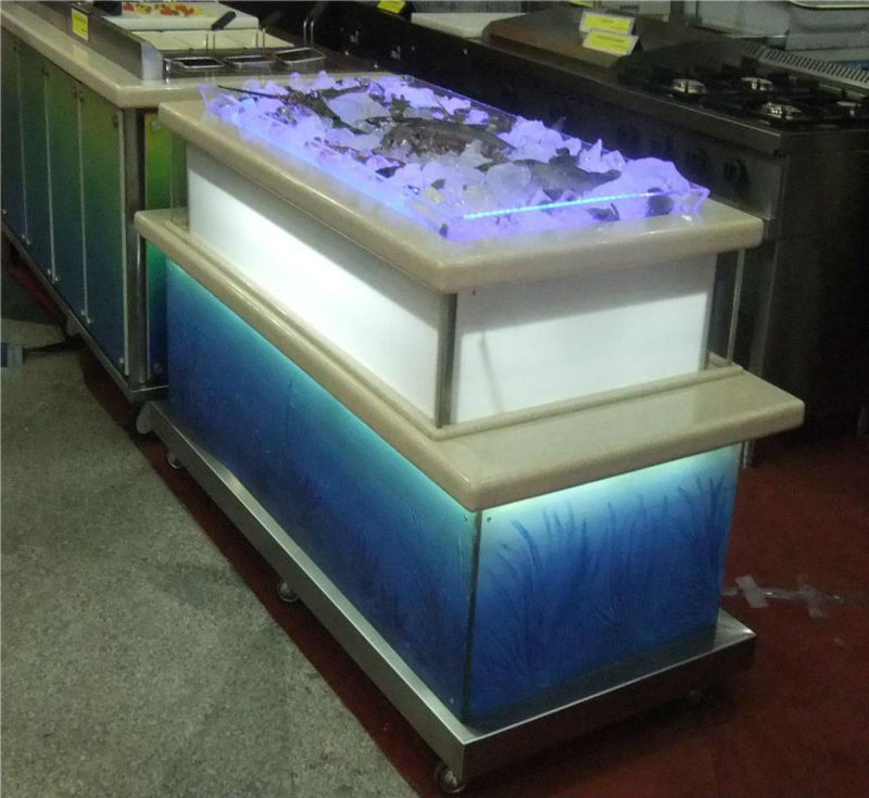Exclusive Ice Seafood Refrigerator display