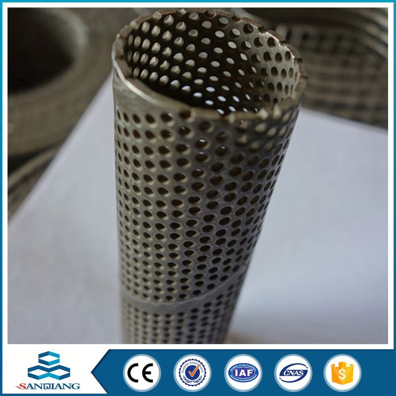 China Factory Galvanized Hexagonal Gi Perforated Metal Sheet/Mesh For Crafts