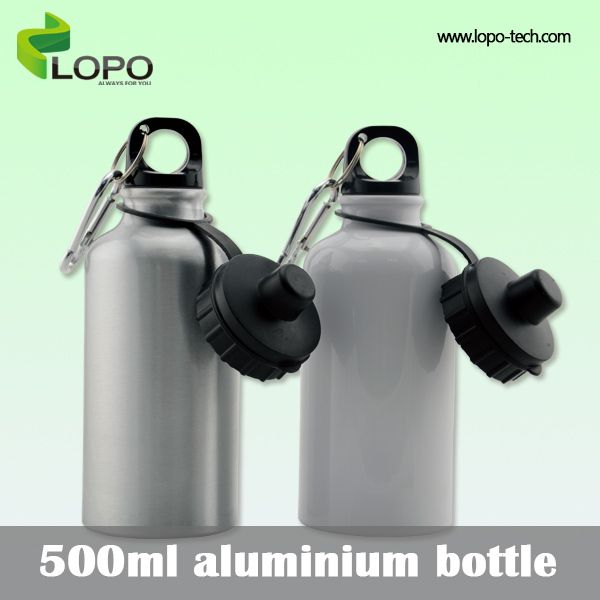 Sublimation Sports Water Bottle Small capacity 500ml cartoon Aluminum bottles