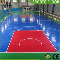 Promotional top quality portable gym floor
