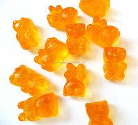 Free Sample Supply Vitamin A,B,C,D,E,H Soft Gummy Candy Based Gelatin