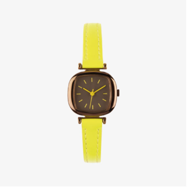 Fashion Macaron Color MINI Case Leather Watch