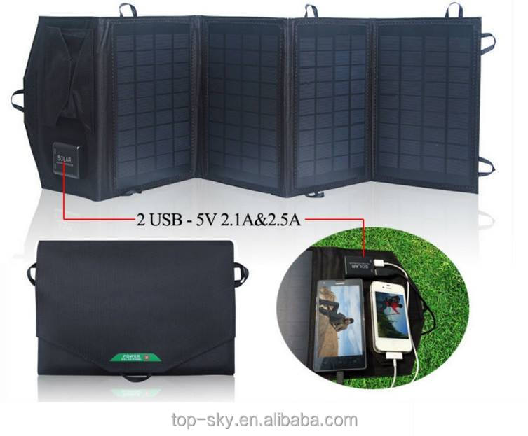 18W Multi Purpose solar laptop charger/foldable folding solar panel/portable solar panel for iphone