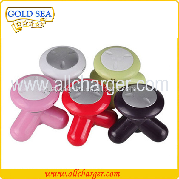 USB charge mini personal electric body massager face massager