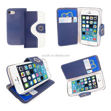 Stylish Attractive PU Leather Wallet Flip Case Cover For Mobile Phones