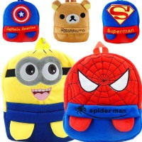 Good Business Plush Backpacks Kids Cartoon School Bag Designs