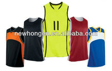Sublimated Reversible Basketball Shirts Custom Basketball Wear, fabric with lycra