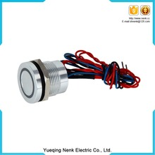 High quality waterproof electrical push button switch
