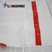 FR fabric for tent DIN 4102 B1 mesh sheeting for scaffolding
