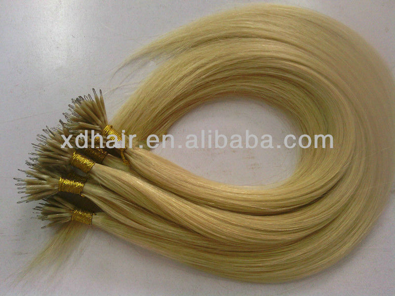 2013 new arrival silky and soft nano kerala hair extensions