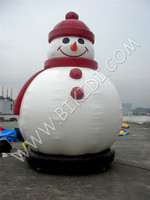 Giant snowman inflatable Christmas decoration/ advertising C1041