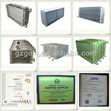 Steam/ Oil heating Stainless Steel Heat exchanger for pharmaceuticals dryer