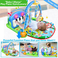factory price soft and non-toxic cotton kick & play piano outdoor gym mat with EN71 ROHS 6P AZO CERT. accept OEM HX9107
