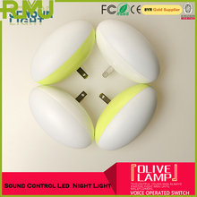 smart Creative high quality Battery Operstion voice Night light