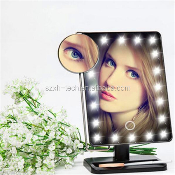 wholesale cheap theatrical vanity girl hollywood led makeup mirror with light lighted makeup. Black Bedroom Furniture Sets. Home Design Ideas