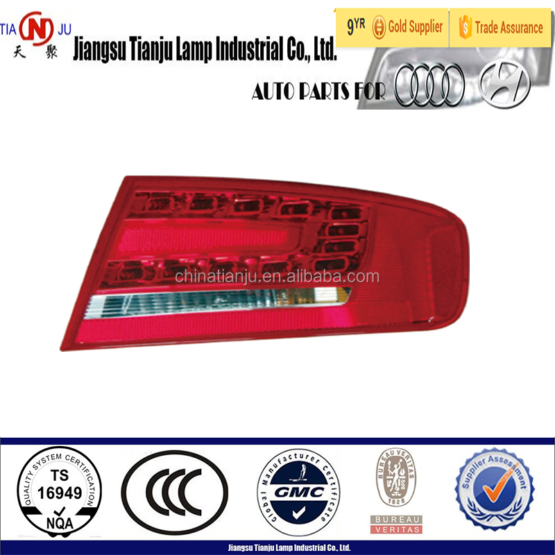 Auto Parts for Audi A4 B8, For Audi A4 B8 led tail lights