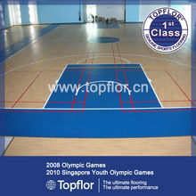 PVC Sports Flooring System For Basketball Court
