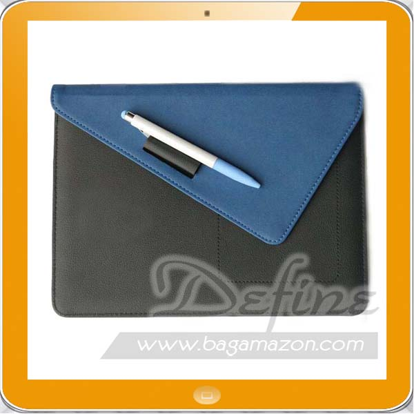 Professional OEM Manufacturer Leather Laptop Sleeve for ipad
