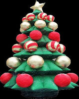 inflatable christmas trees for ourside yard decoration