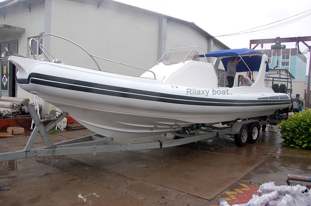 Rilaxy 32ft deep V cabin rib boat