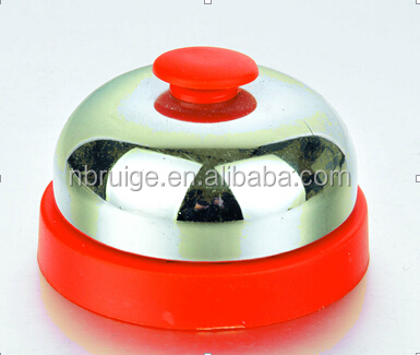 65mm desk metal call bell for restaurant dinner