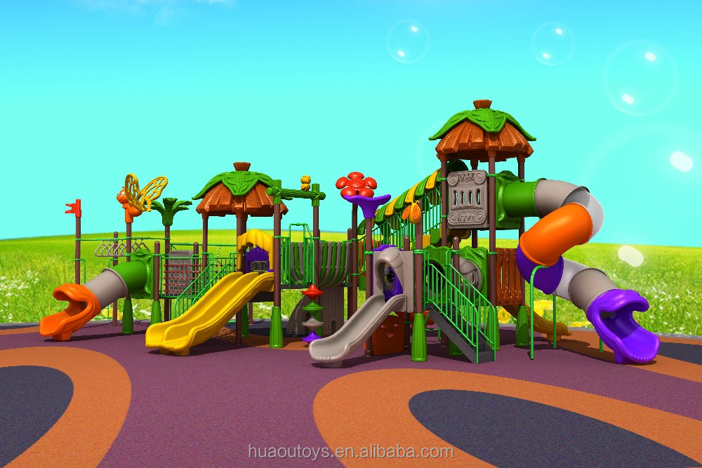 2016 Kids amusement park used children outdoor playground equipment