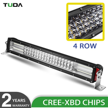 4X4 50000 Lumen 12 Volt 24 Volt Aurora Wholesale Led Light Bar Car, 22 Inch Truck 4 Row Led Offroad Light Bar
