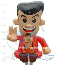 2012 {QiLing} Inflatable moving cartoon from inflatable factory