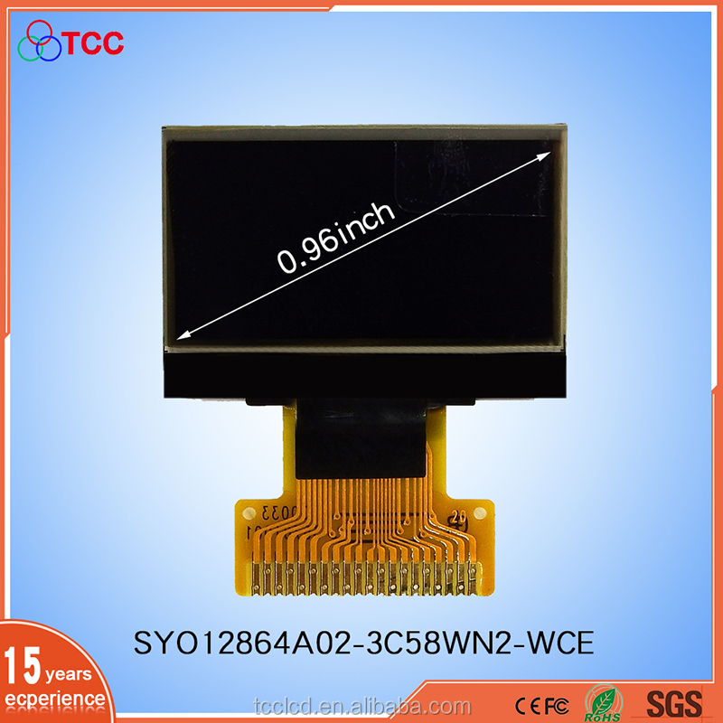 0.96'' Inch 12864 OLED Display Panel LCD Screen 128*64 <strong>A02</strong>