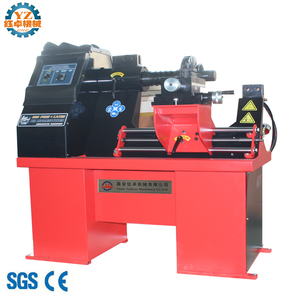 WS26 Rim Straightening Machine With Lathe for alloy mag wheel