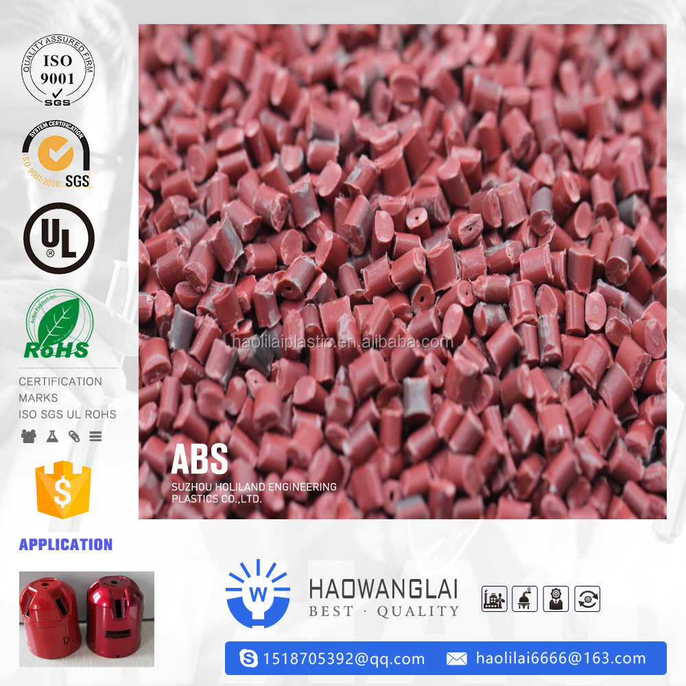 NEW Grade General Plastics Injection Molding Products Amorphous material Deying particles Flame Retardant ABS 199U abs granules