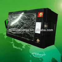 electric car battery with solar power /li ion battery pack 12v 200ah