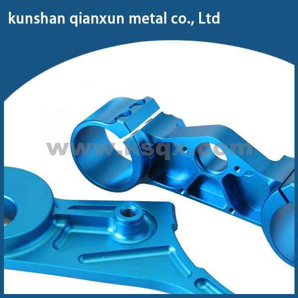 OEM color anodized custom aluminum made in china parts