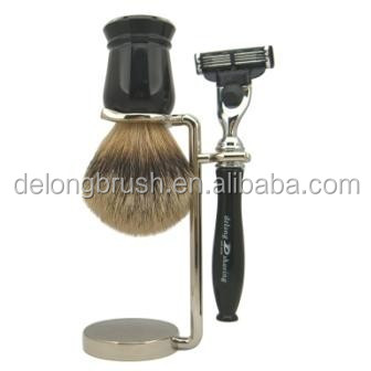 100% Pure Badger Shaving Brush with High Quality Resin Handle