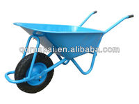 large and heavy duty wheel barrow WB5009E with pneumatic wheel