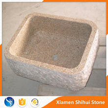 Deep Natural Stone Outdoor Sink
