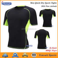 Top selling 2016 popular design super heroes style compression wear, wholesale youth compression shirts dry fit t shirt
