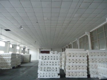 Fabric in warehouse
