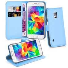 Cell phone PU Wallet leather case for Samsung Galaxy S5 Active, For samsung galaxy s5 phone unlocked