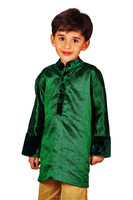 Beautiful Silk Velvet Wedding Kurta/boys kurta