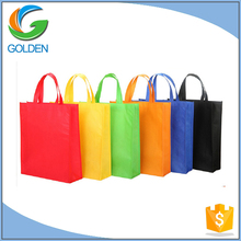 Cheap recycled custom logo promotion tote shopping polypropylene raw material non woven bag with laminated