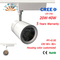 20W 30W 40W Ceiling led track light with Epistar Led chip