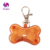 Pet Dog LED ID Tags Lights Pendants Flash Bone Safety Pendant Collar Circular Clip LED light Pendant for Small Dog Cat Collar