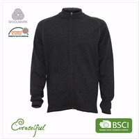 Wholesale fleece jacket thermal cardigans wool stylish pullover sweater