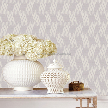 latest pvc vinyl coated washable modern home wallpaper